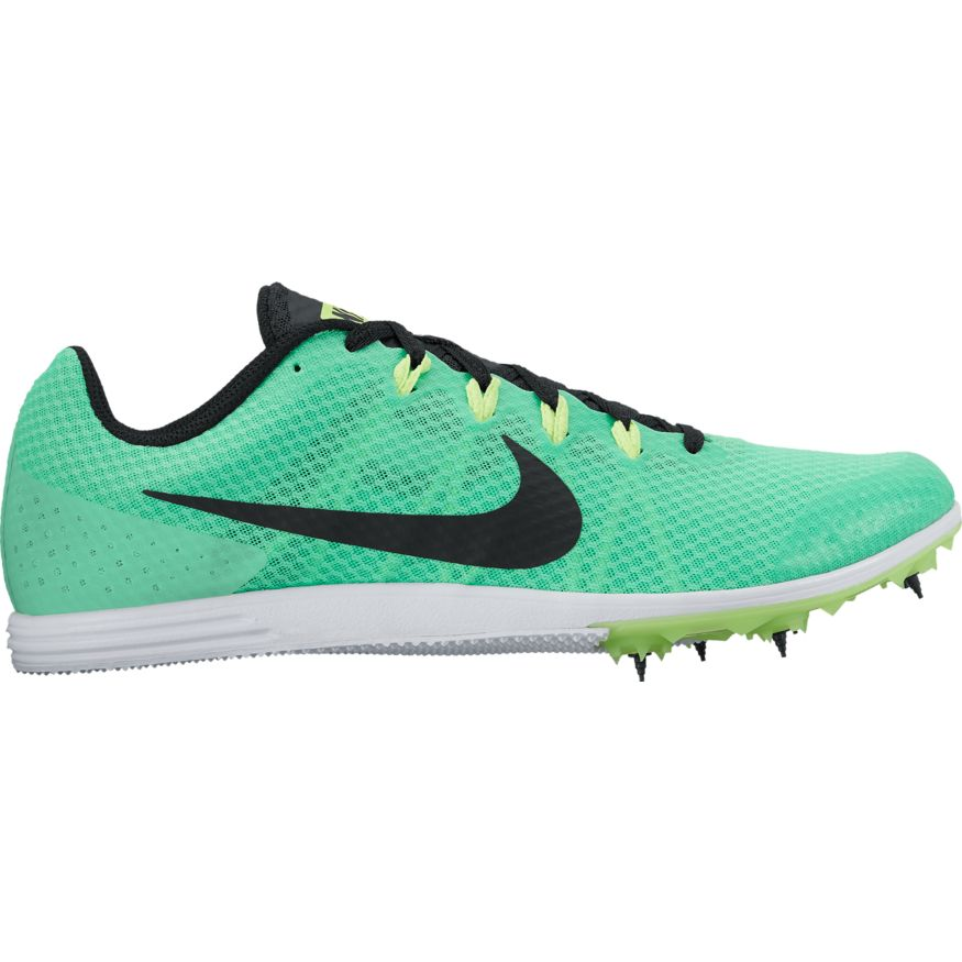 big sale 9f418 4d931 Nike Zoom Rival D 9 Distance Spike- Electro Green/Black